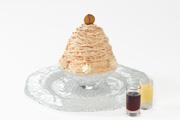 北山本店 季節のデザート「雪の菓 モンブラン氷」提供スタート