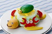 カメさんもびっくり?!ちびっ子がデザインした「海の世界のケーキ」マールブランシュ北山本店にて数量限定販売