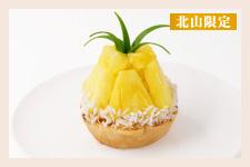 【北山限定】沖縄県産パインとココナッツのパイタルト